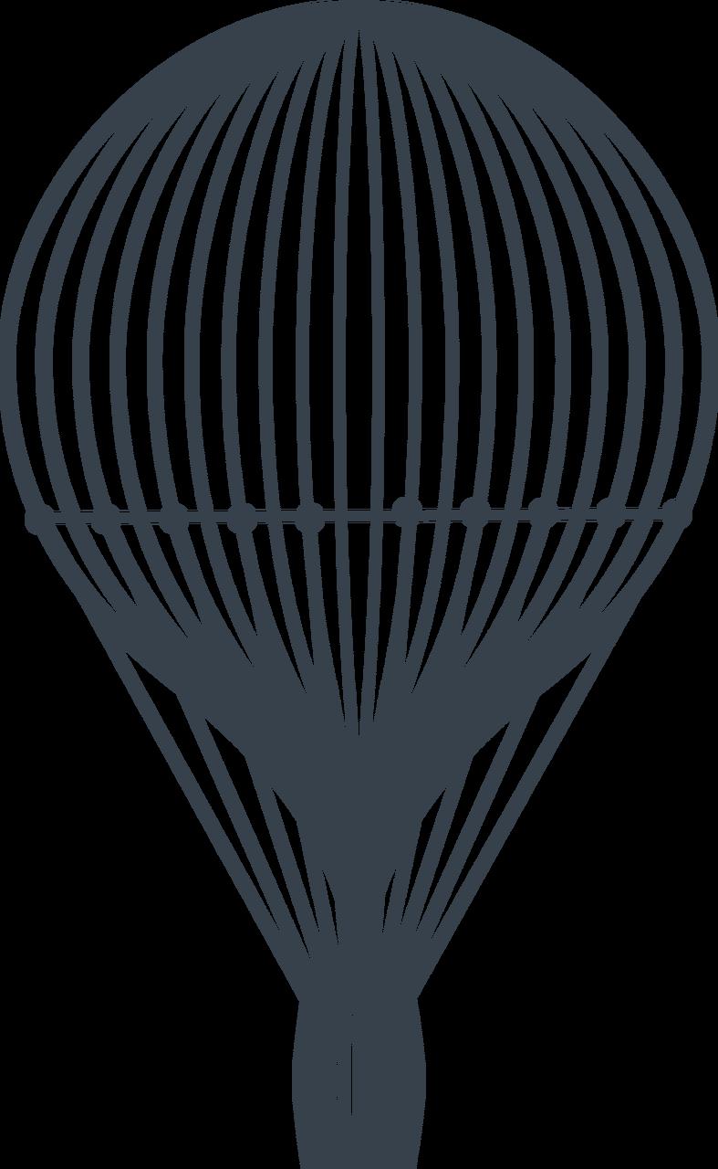 Hot Air Balloon #5 SVG Cut File