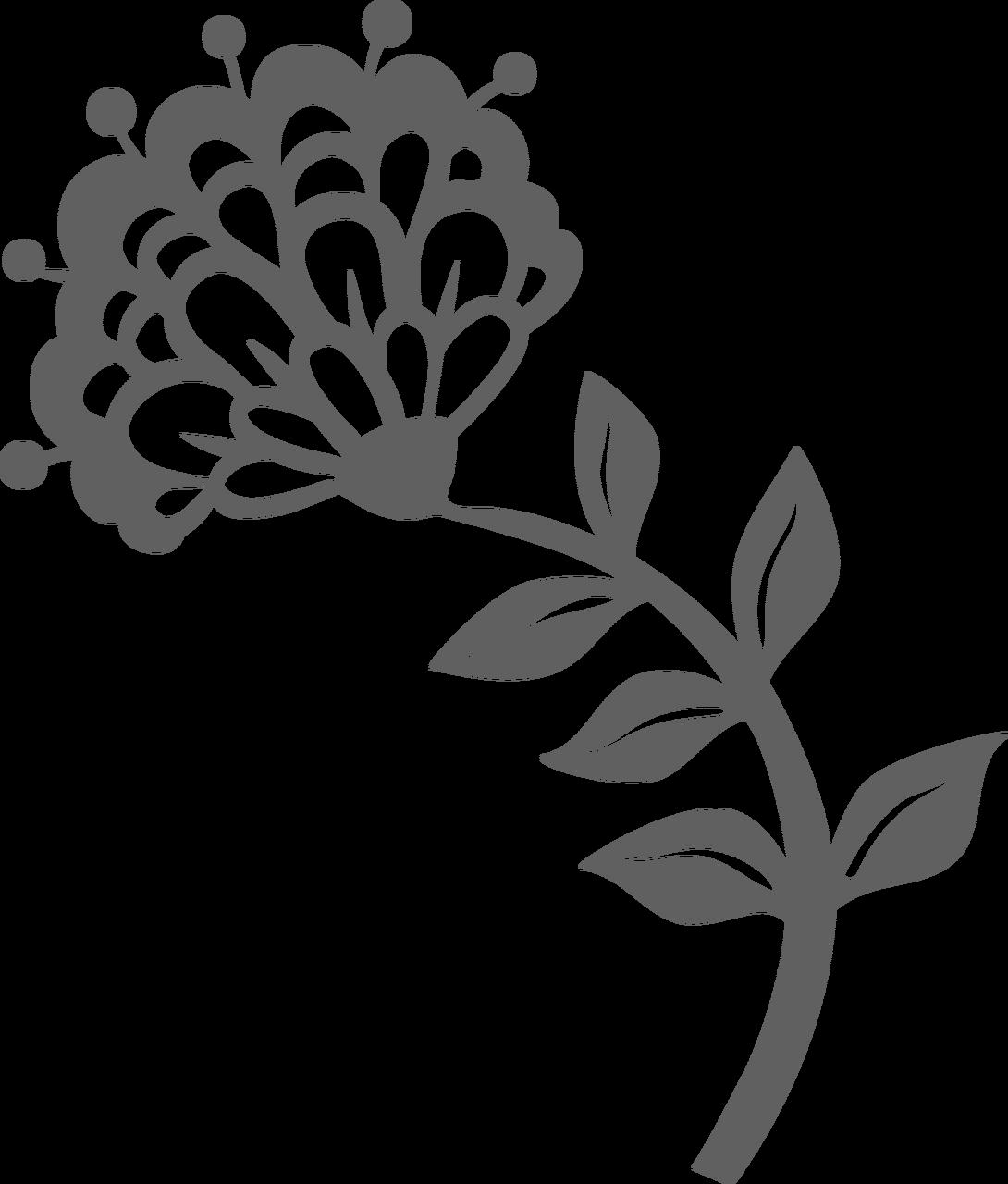Chrysanthemum SVG Cut File