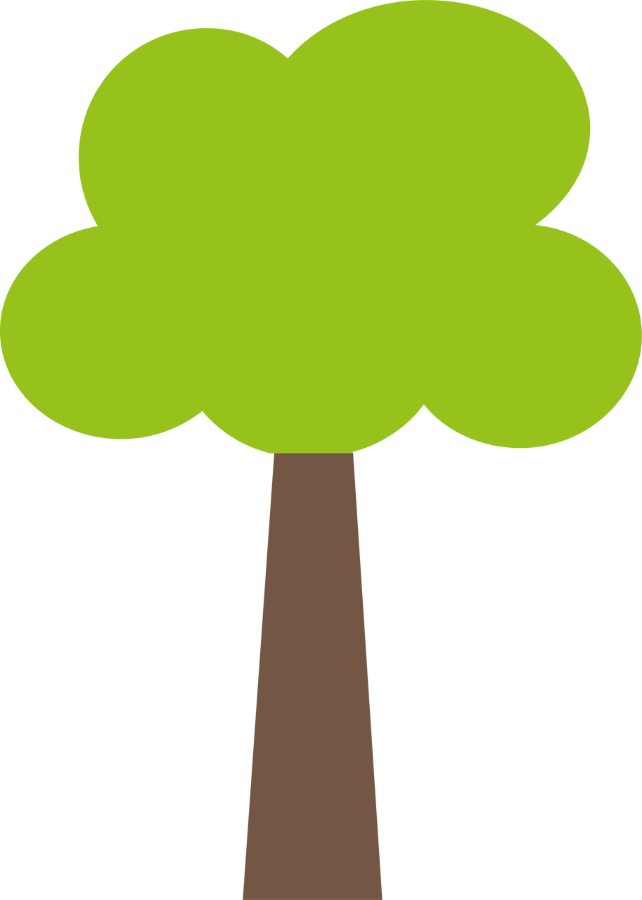 Spring Tree SVG Cut File