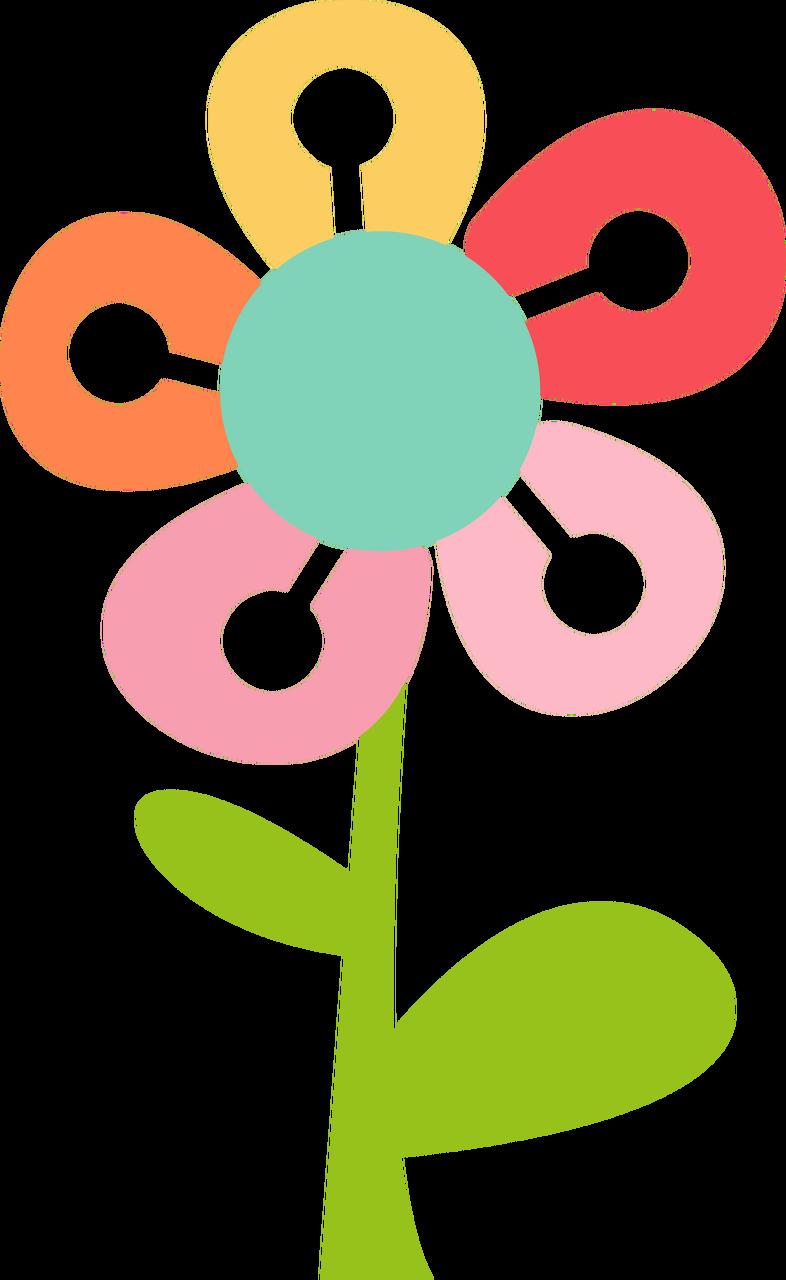 Spring Flower #2 SVG Cut File