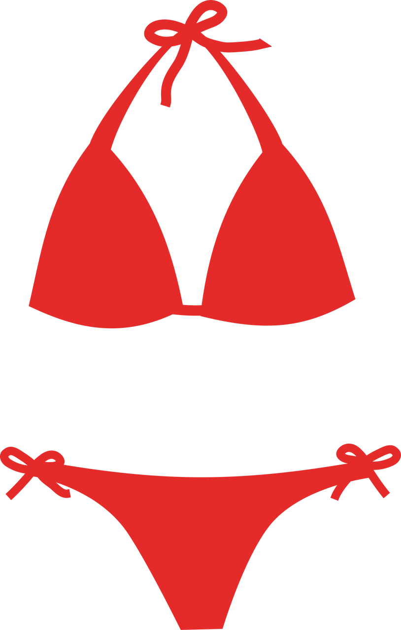 Bikini #2 SVG Cut File