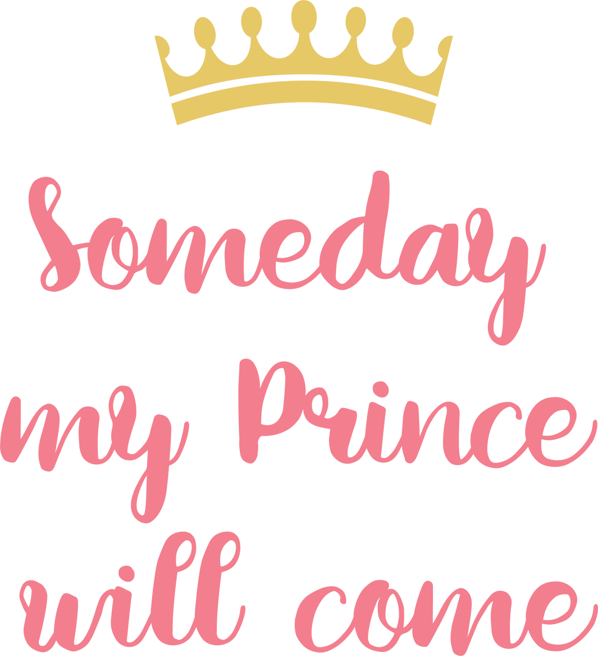 Someday My Prince Will Come SVG Cut File