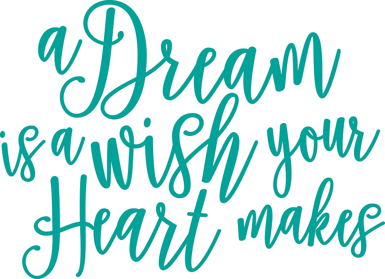 A Dream Is A Wish Your Heart Makes SVG Cut File