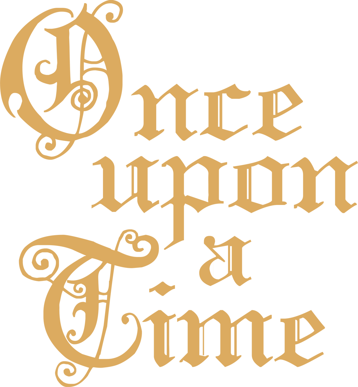 Once Upon A Time #2 SVG Cut File
