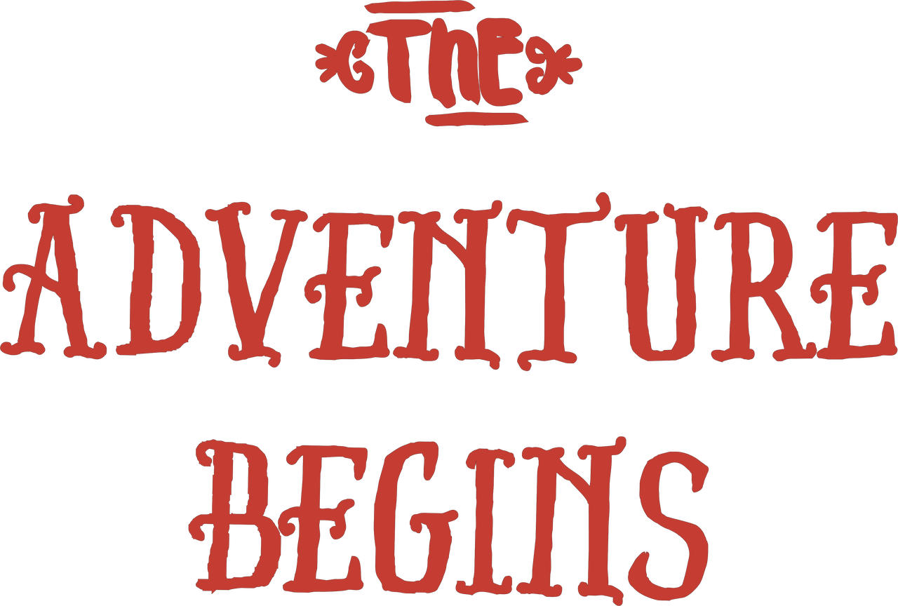 The Adventure Begins SVG Cut File