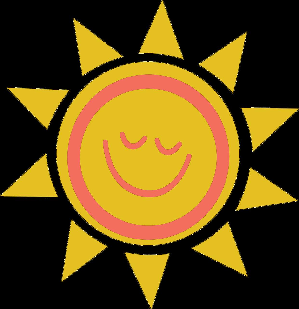 Sun SVG Cut File