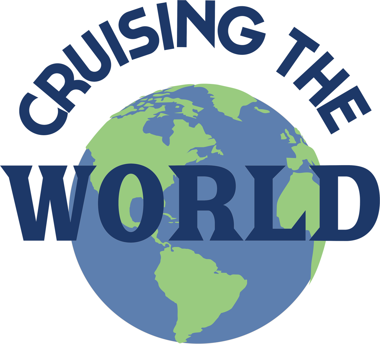Cruising The World SVG Cut File