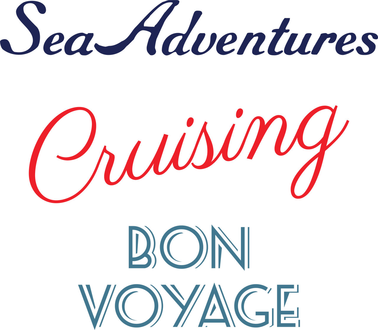 Cruise Words SVG Cut File