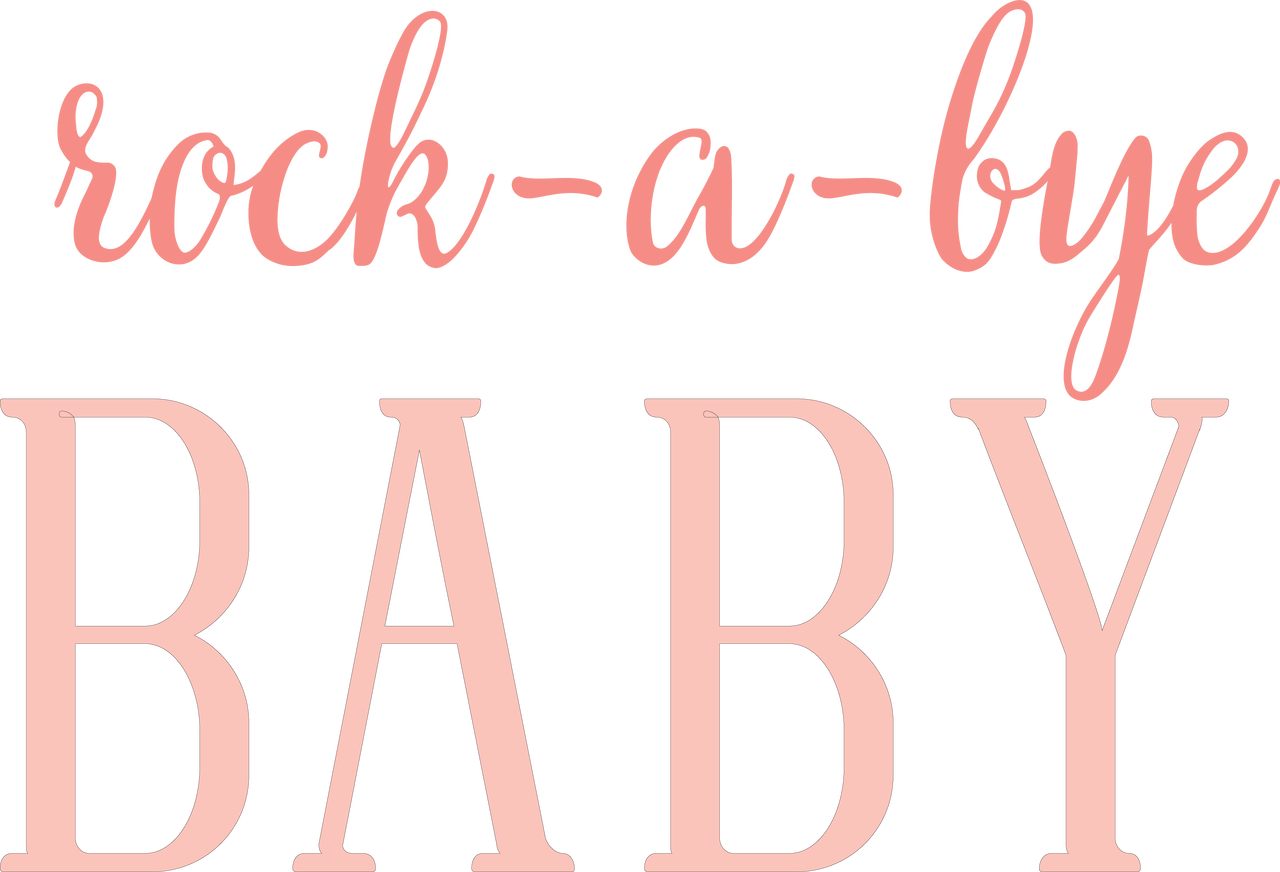 Rock-A-Bye Baby SVG Cut File