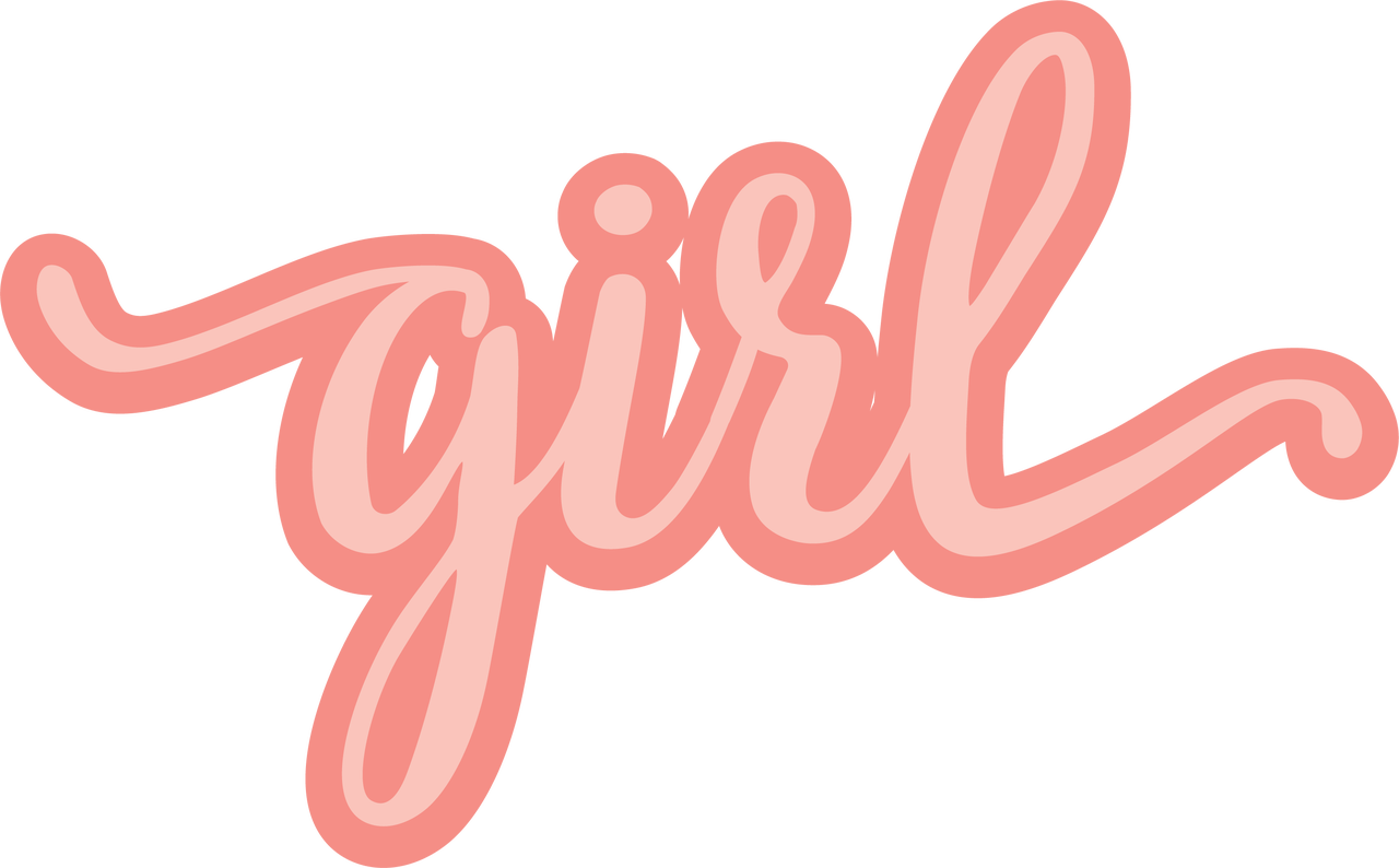 Girl #2 SVG Cut File