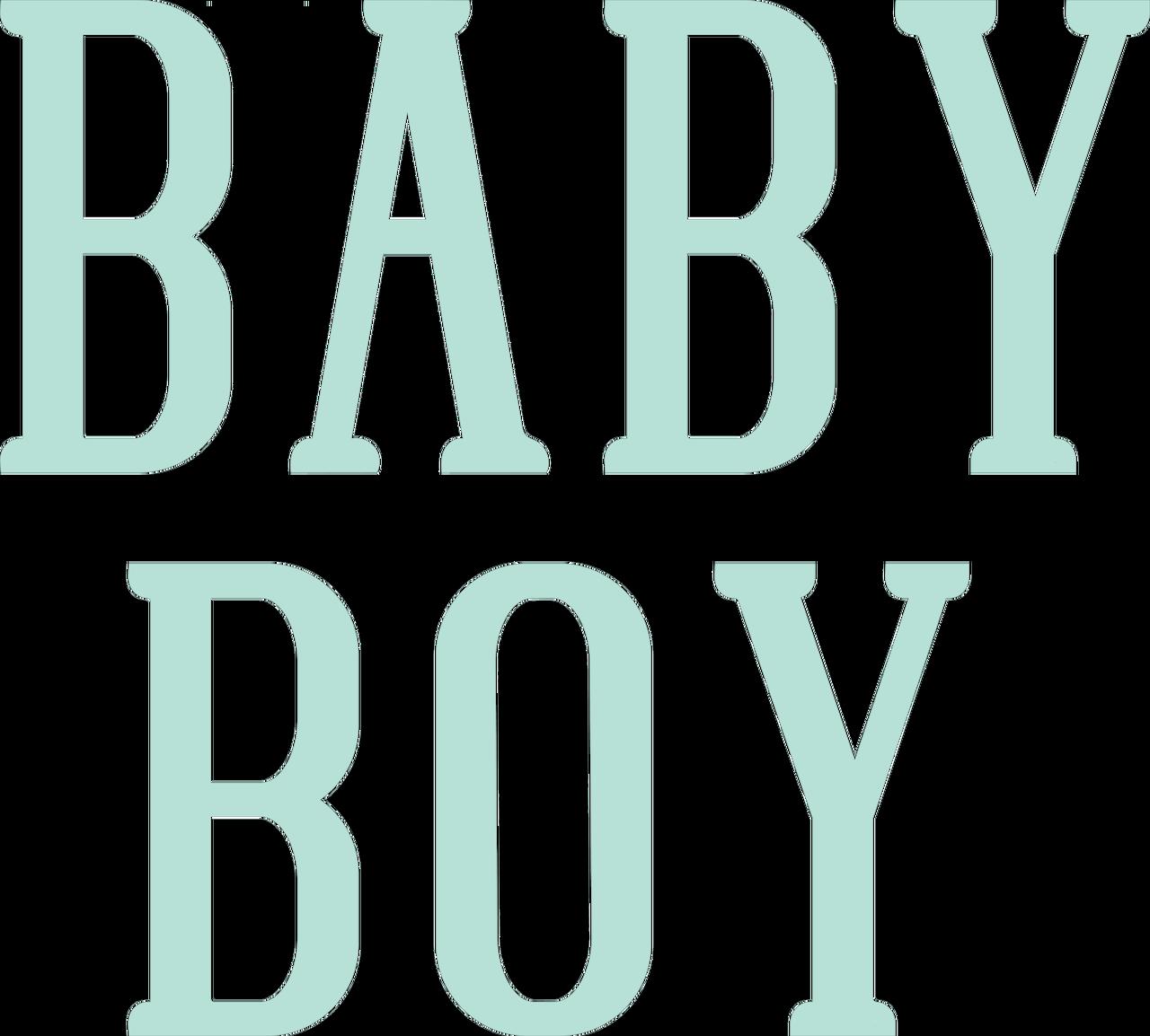 Baby Boy #3 SVG Cut File