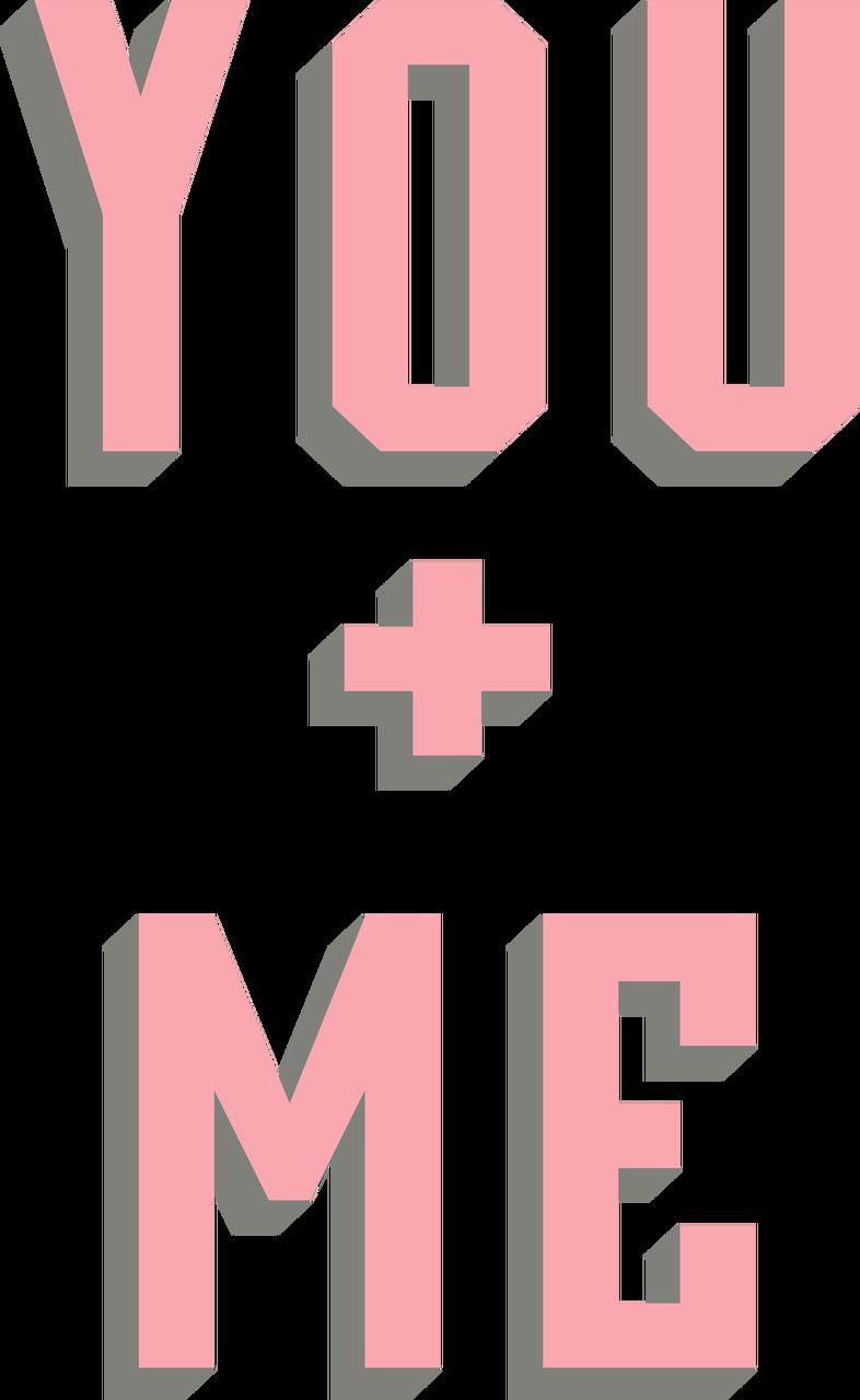 You + Me SVG Cut File