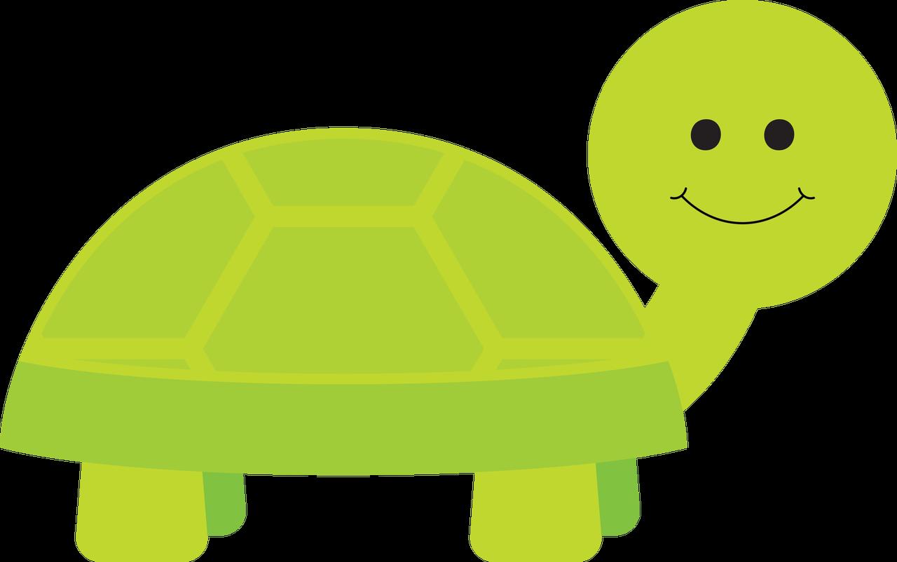 Happy Turtle SVG Cut File