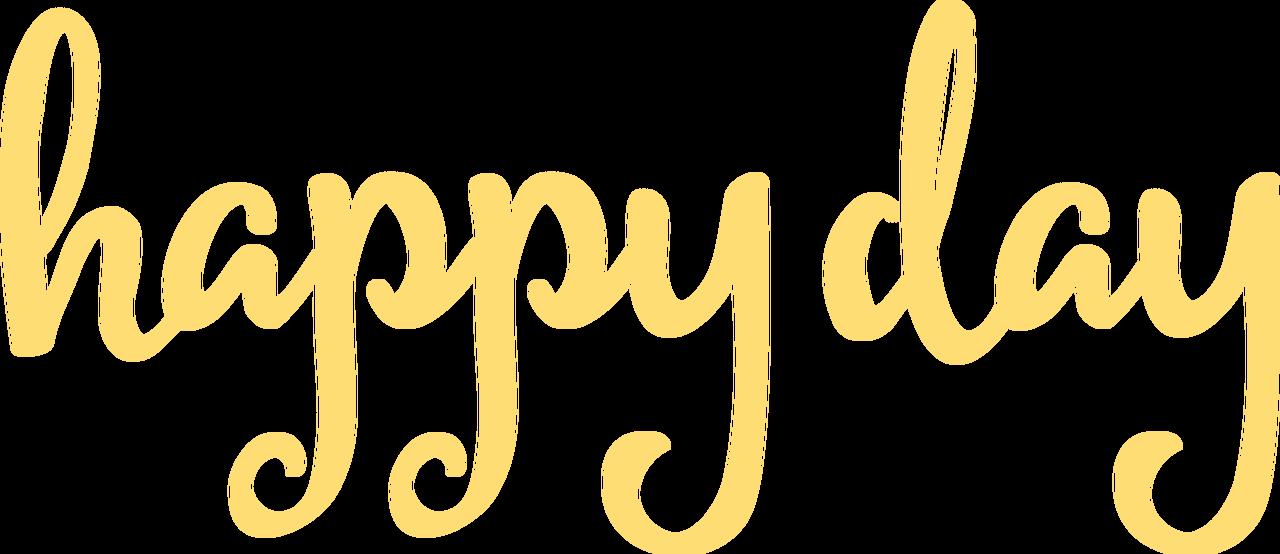 Happy Day #2 SVG Cut File