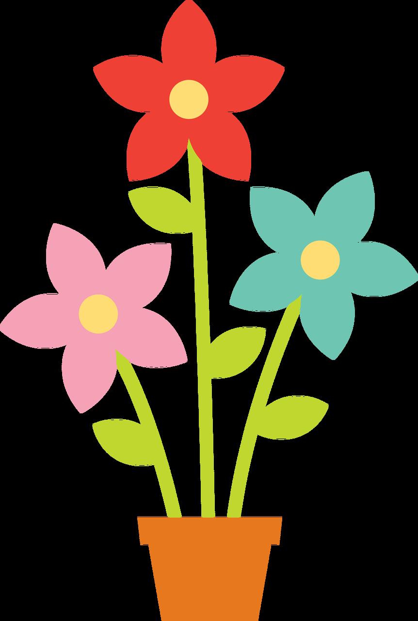 Flower Pot SVG Cut File