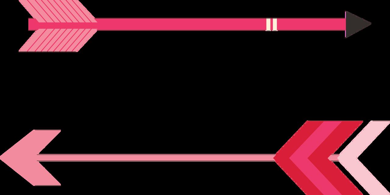 Valentine's Arrows SVG Cut File
