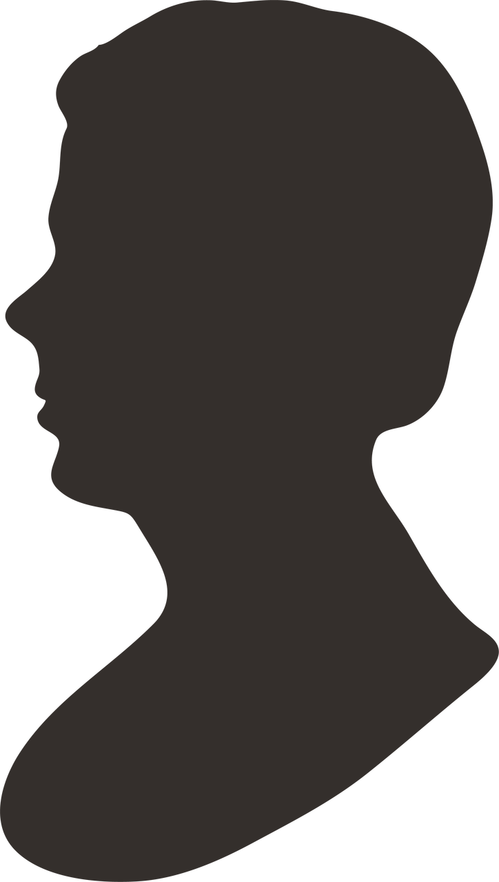 Man Silhouette SVG Cut File