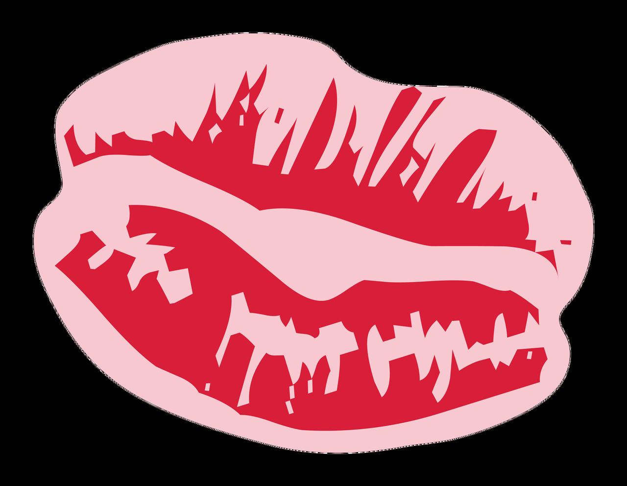 Kiss Print & Cut File