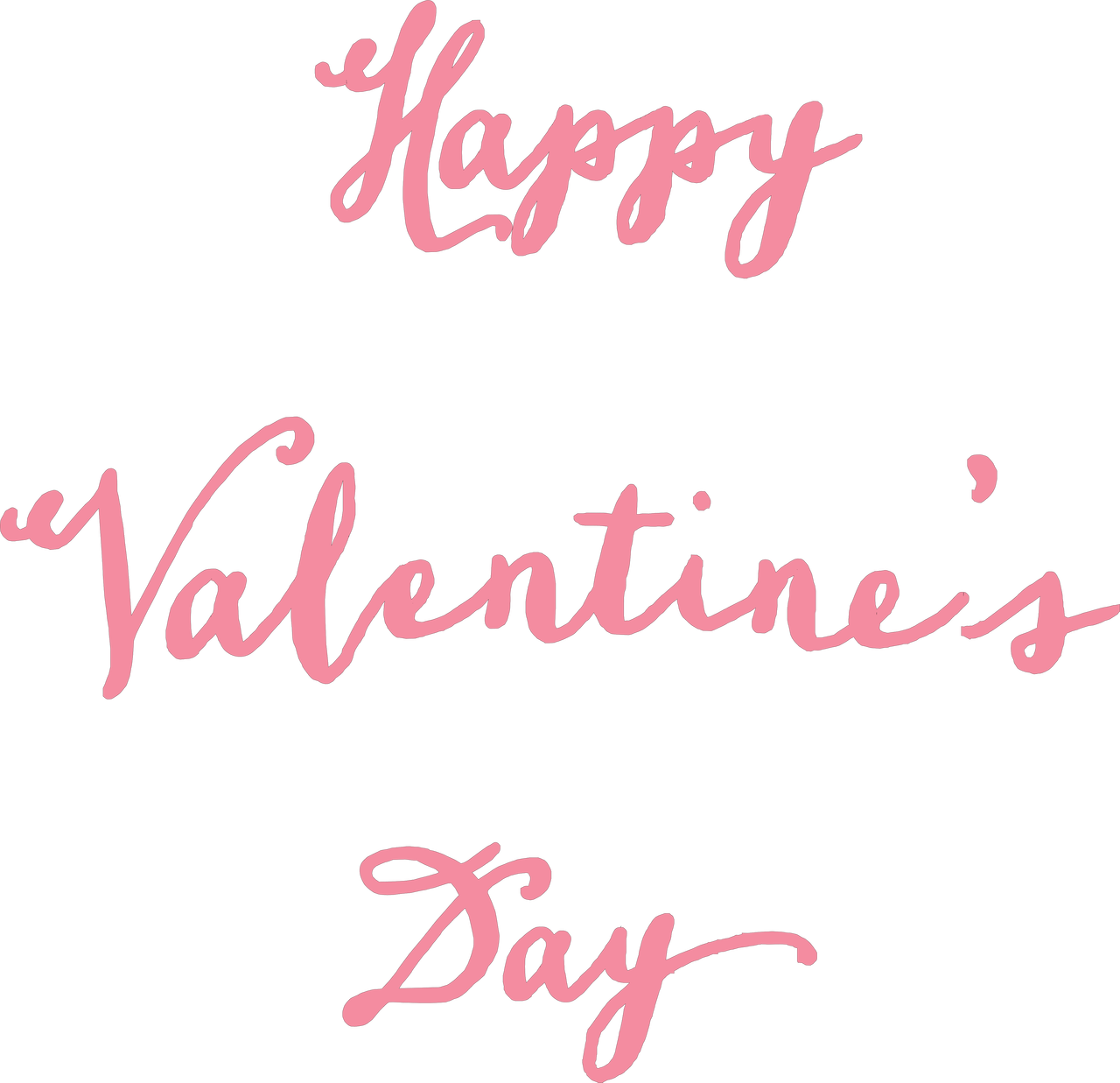 Happy Valentine's Day #3 SVG Cut File