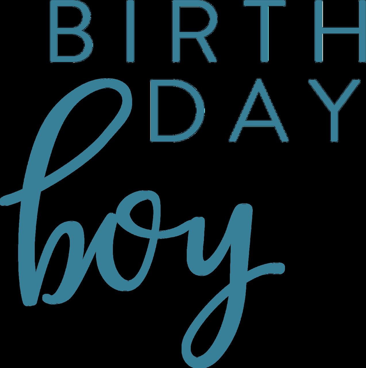 Birthday Boy #2 SVG Cut File