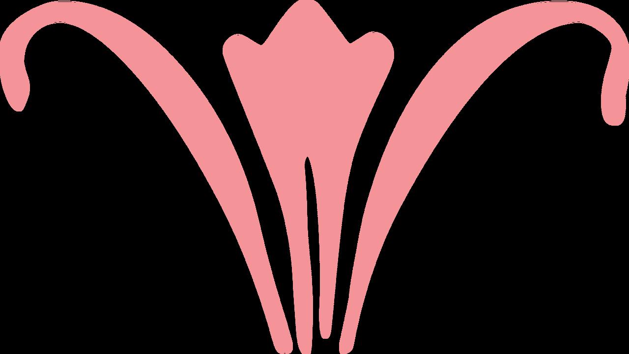 Tulip Flourish SVG Cut File