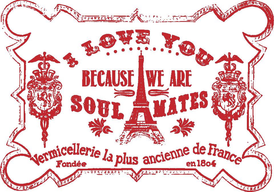 I Love You Stamp Print & Cut File