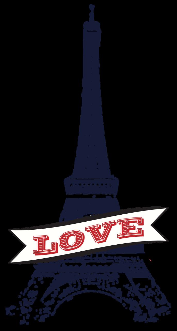 Eiffel Tower #2 Print & Cut File