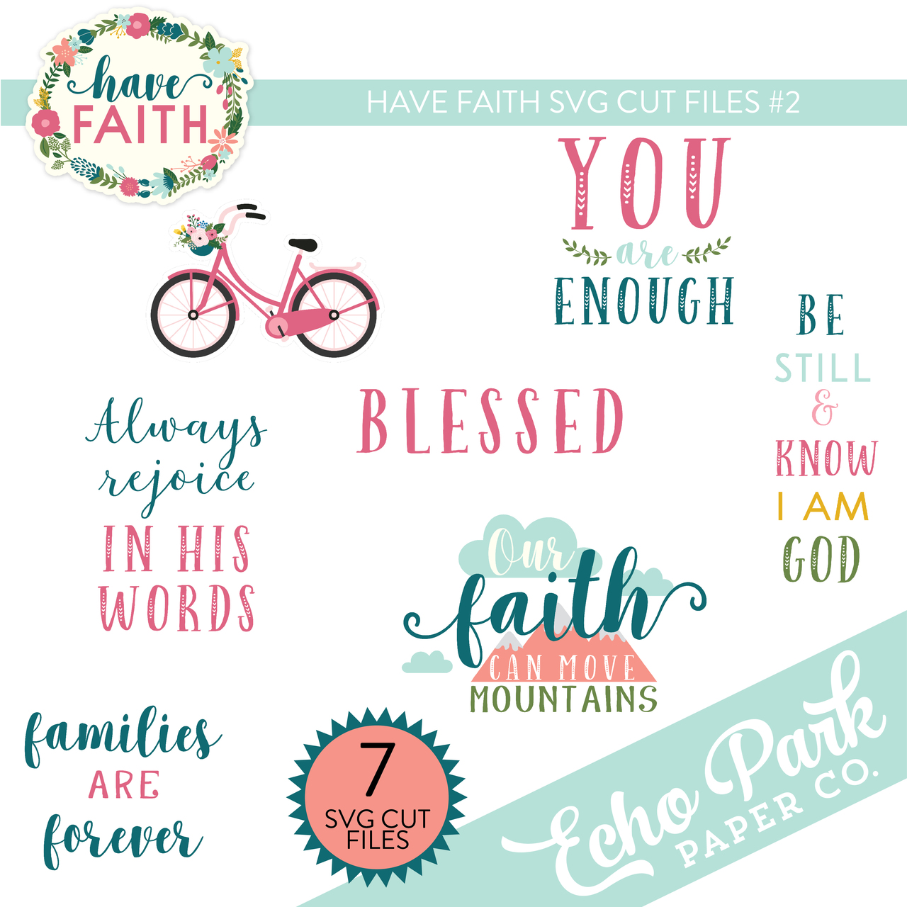 Have Faith Svg Cut Files 2 Snap Click Supply Co