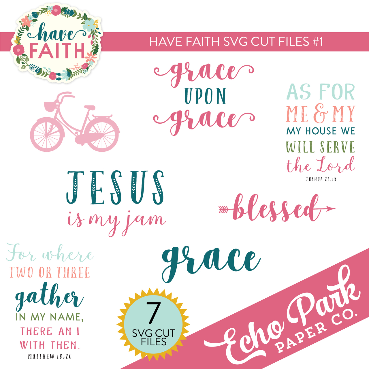 Have Faith Svg Cut Files 1 Snap Click Supply Co