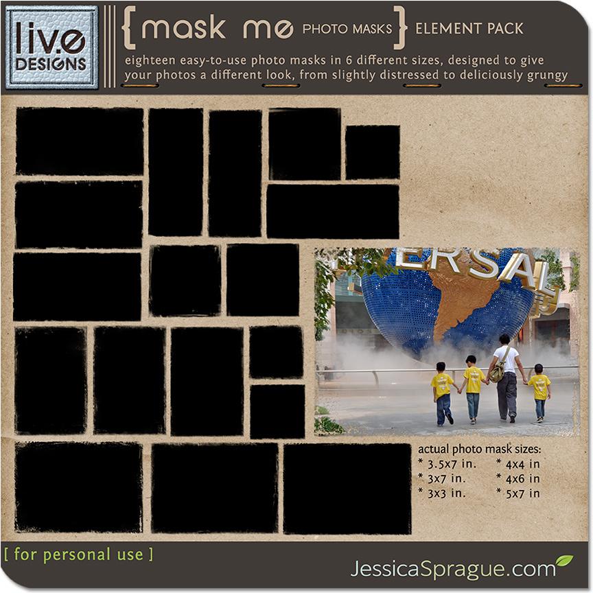 Mask Me - Photo Masks