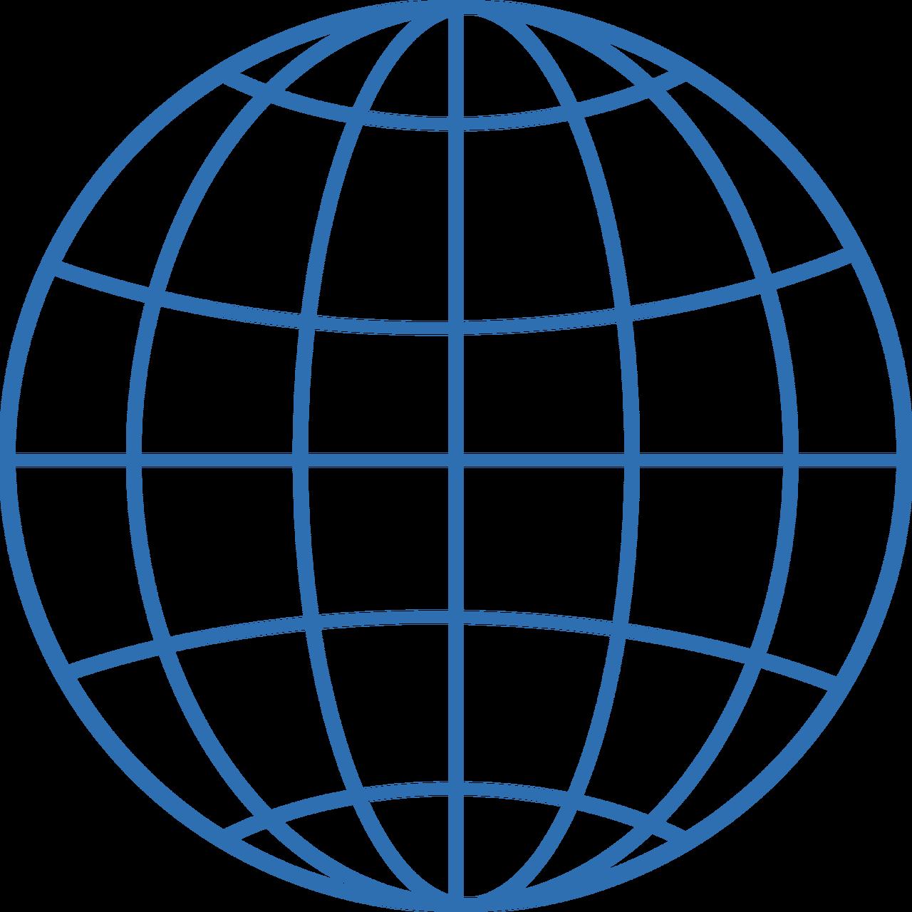 Globe #6 SVG Cut File