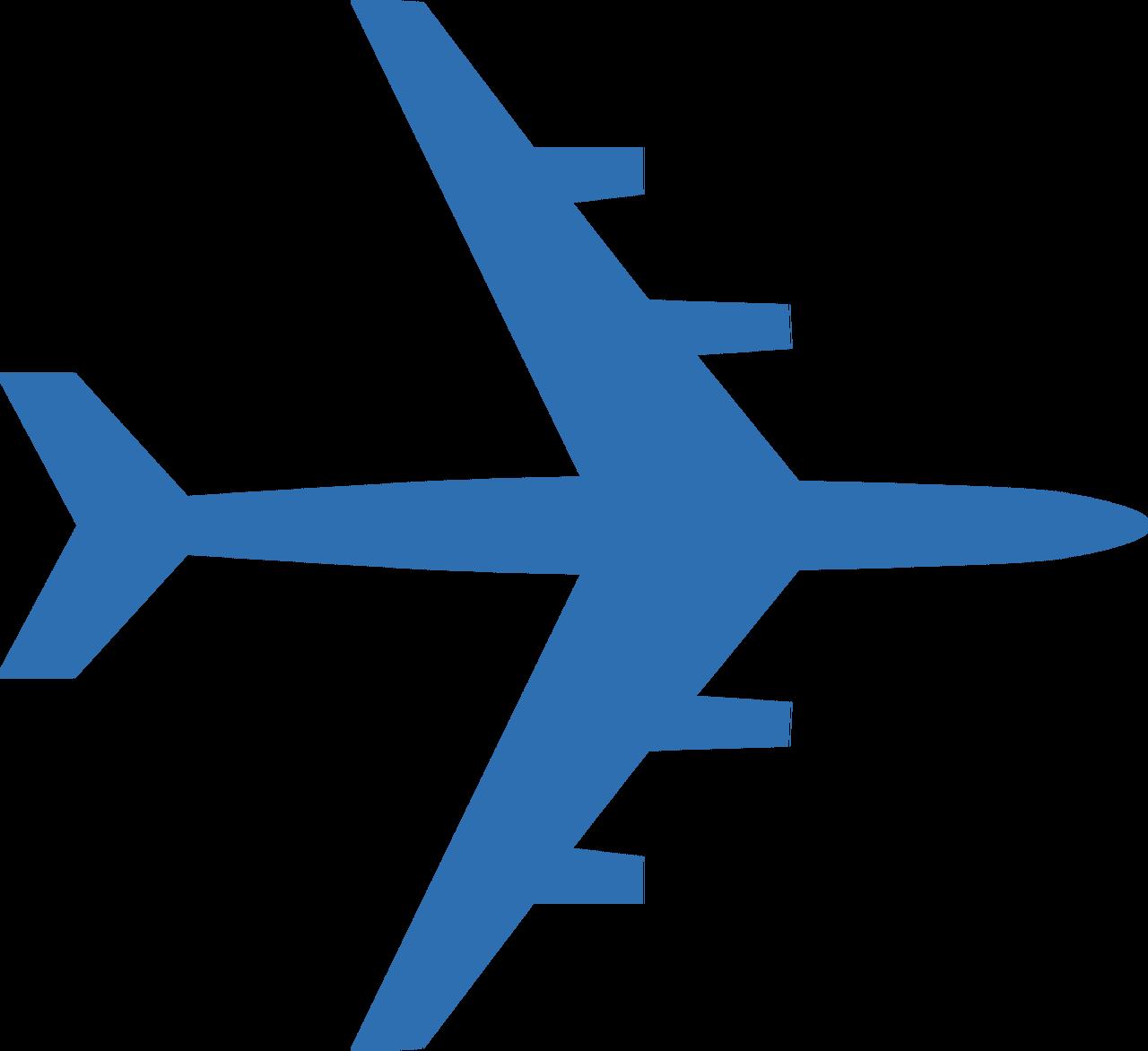 Airplane #4 SVG Cut File