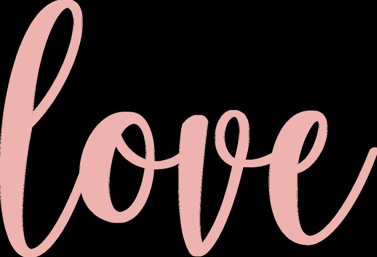 Love #4 SVG Cut File
