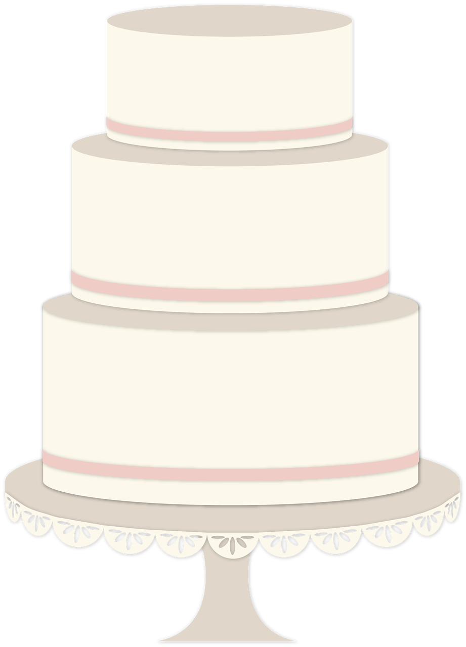 Wedding Cake Print & Cut File