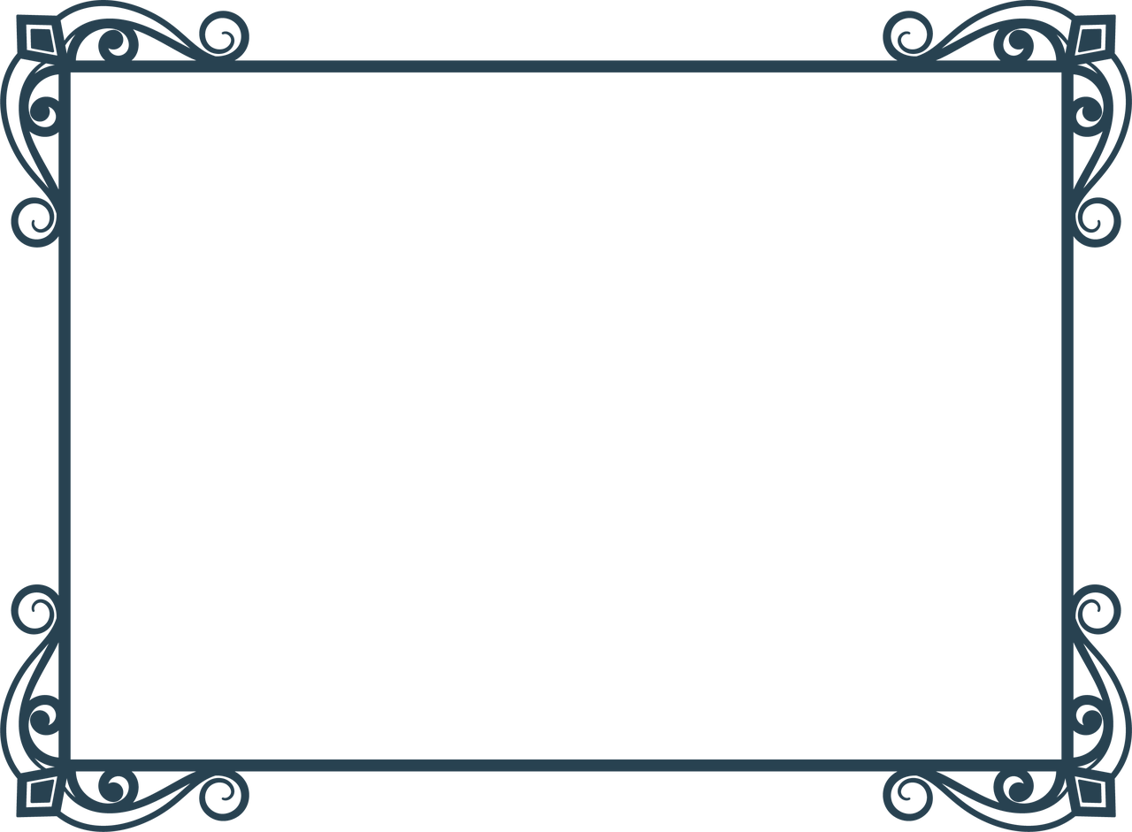 Wedding Frame #4 SVG Cut File