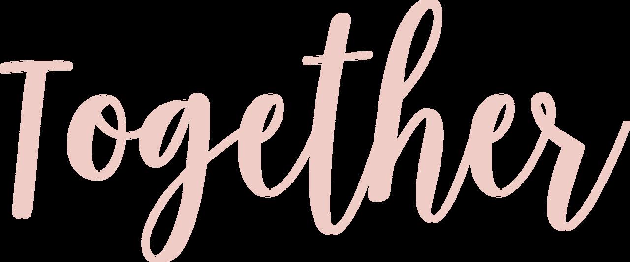 Together SVG Cut File