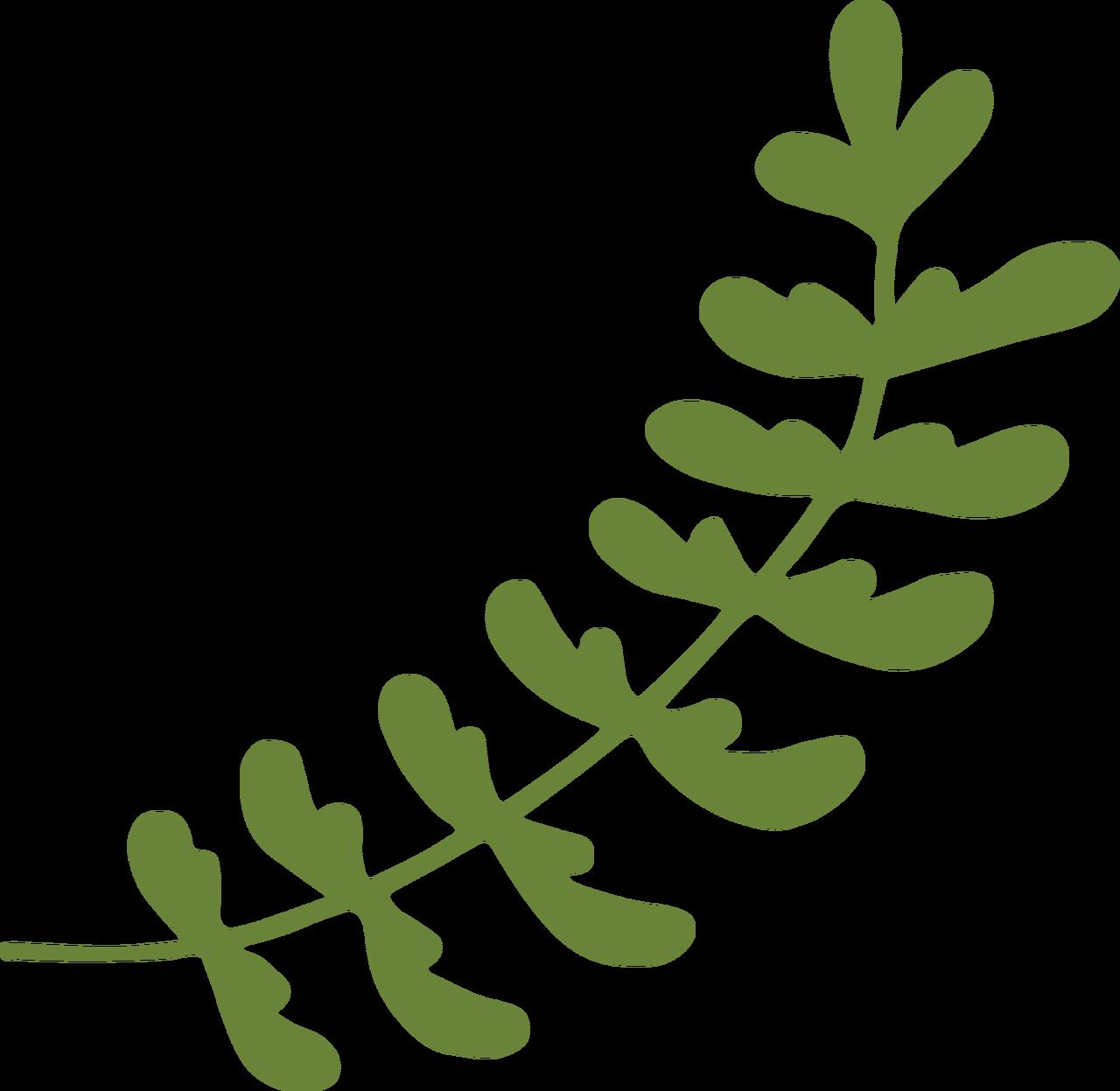Wedding Leaves SVG Cut File