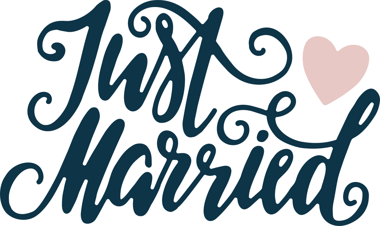 Just Married #2 SVG Cut File