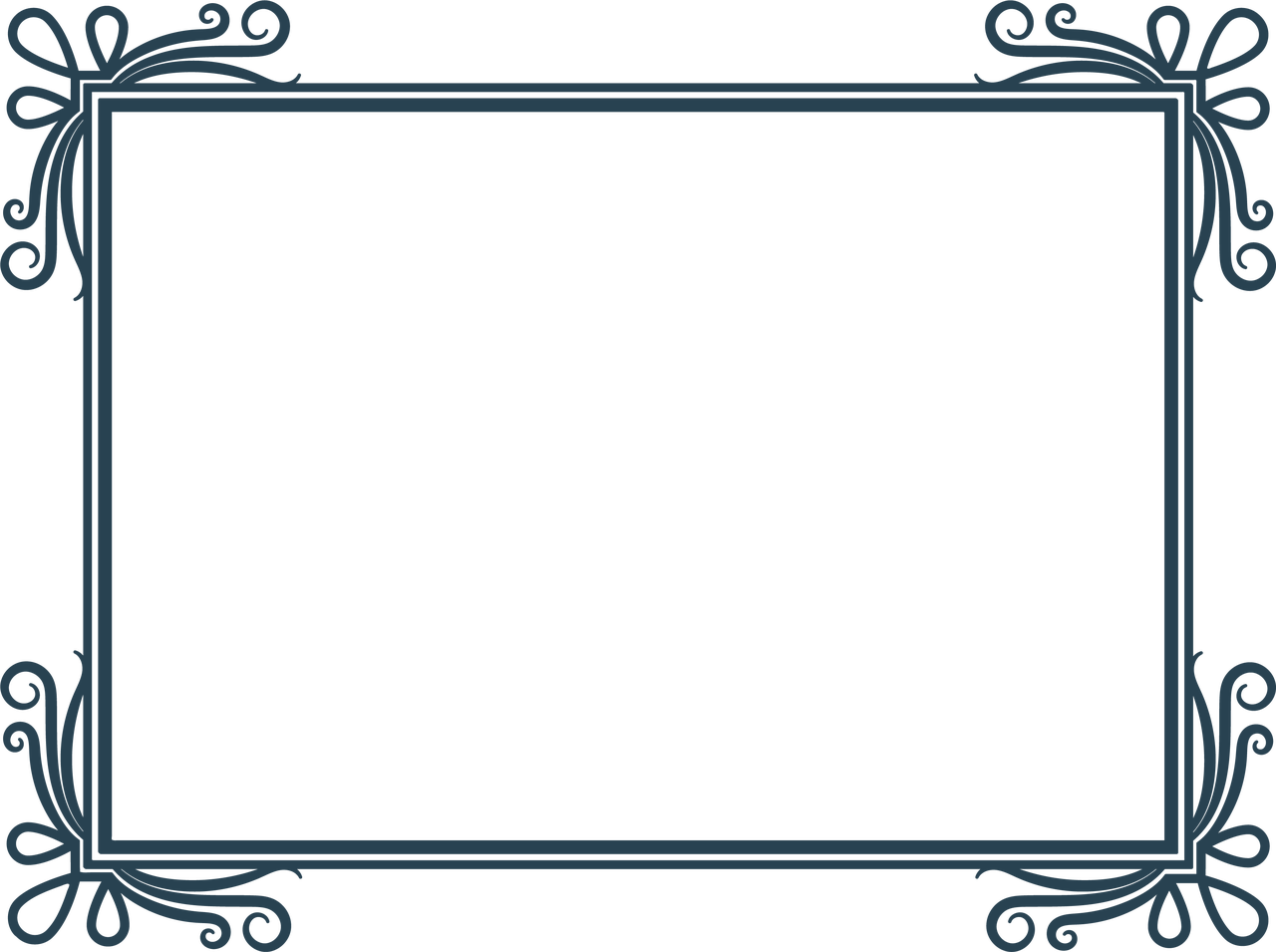 Wedding Frame #6 SVG Cut File