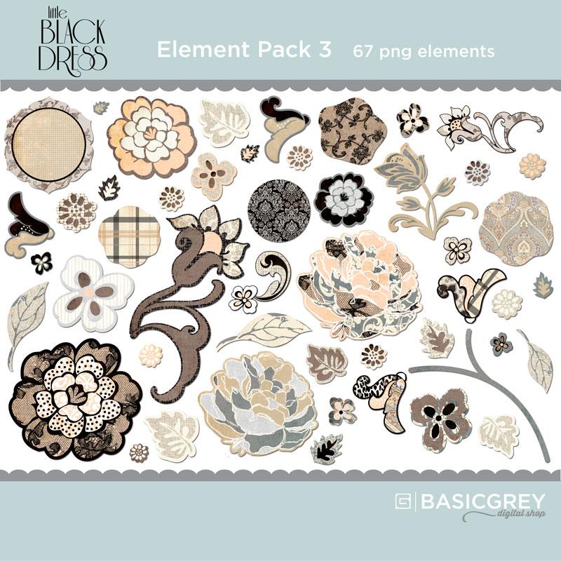 Little Black Dress Element Pack 3