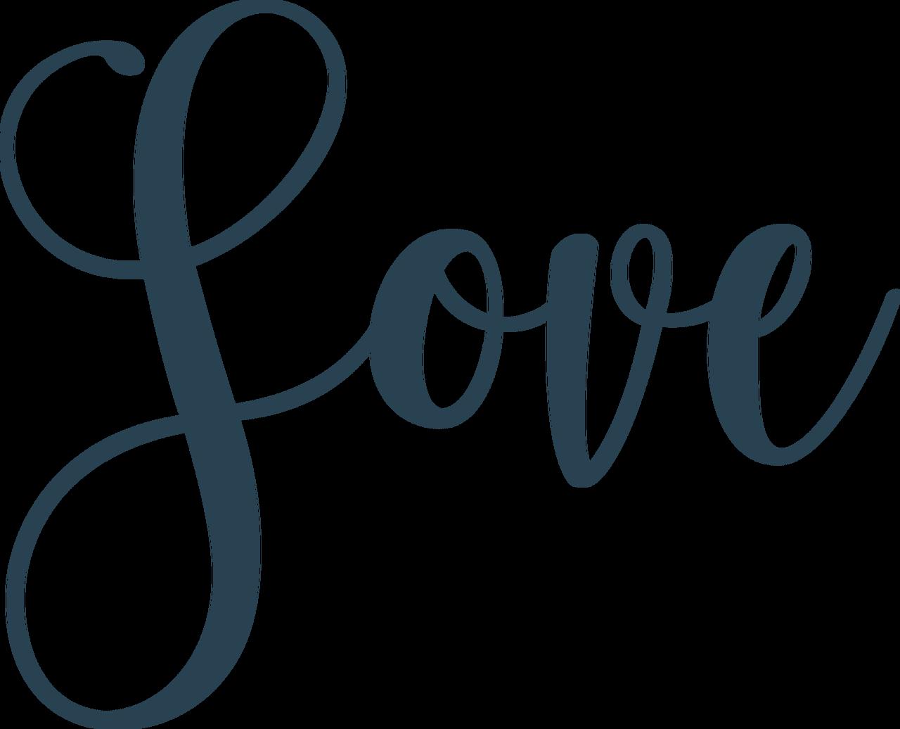 Love #5 SVG Cut File