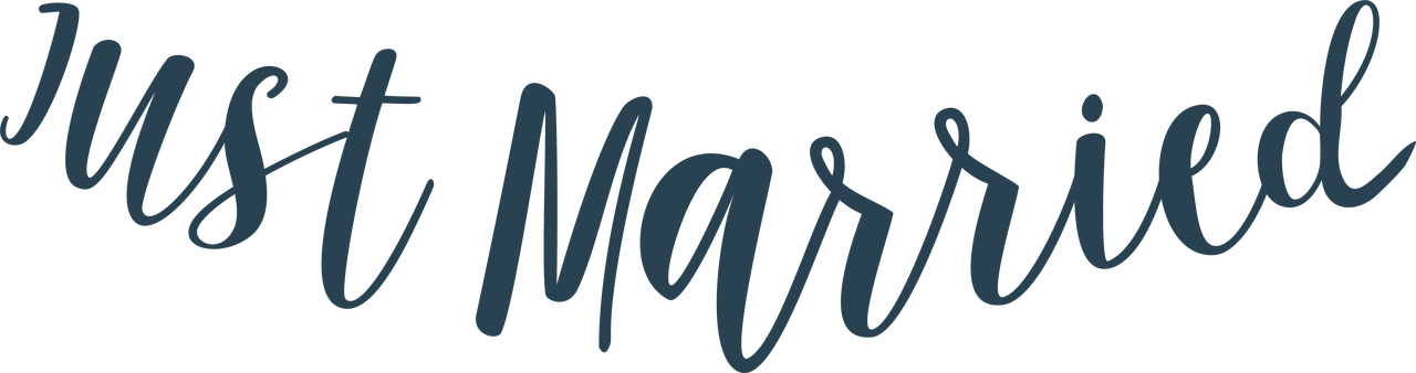 Just Married Banner #2 SVG Cut File
