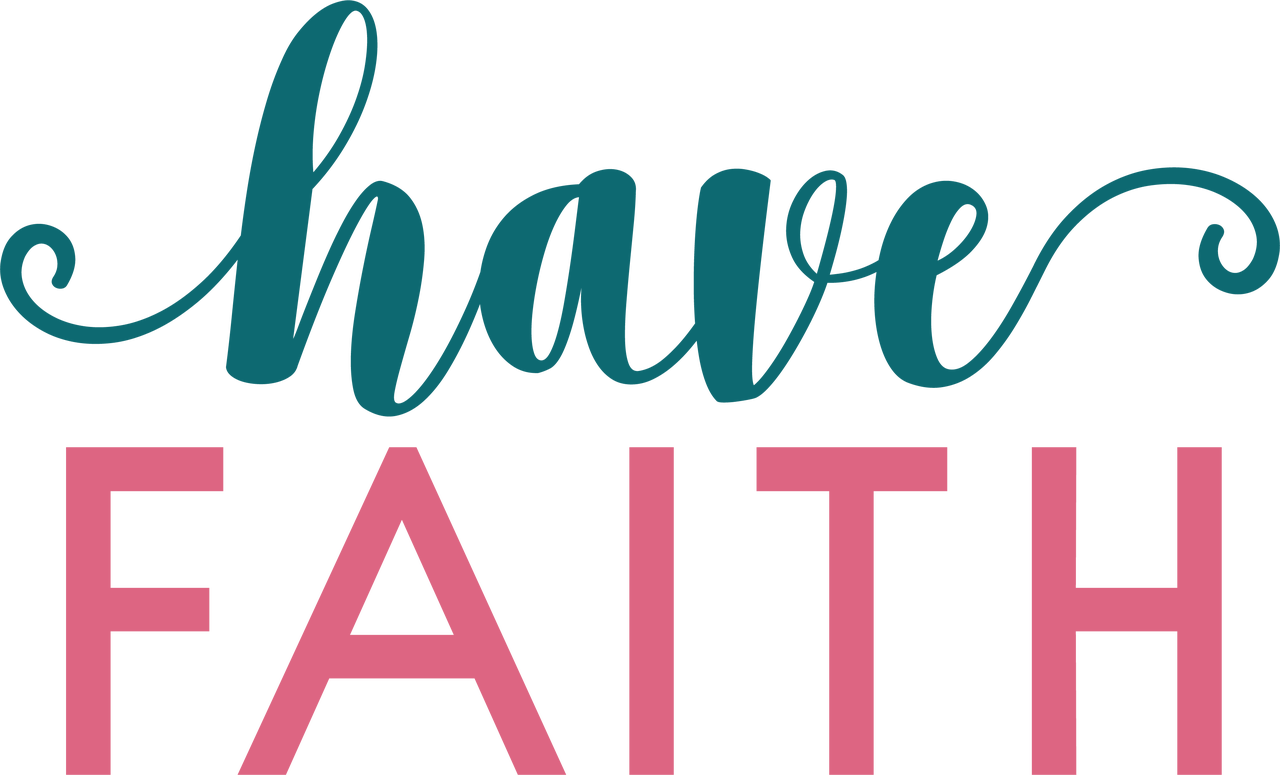 Have Faith SVG Cut File