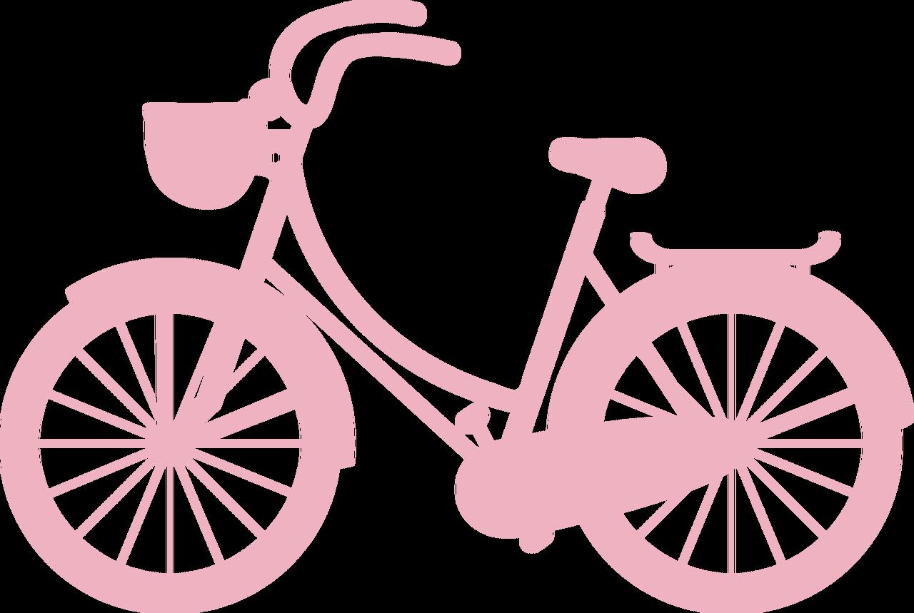 Bike Silhouette SVG Cut File