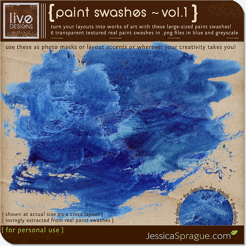 Paint Swashes Vol.1