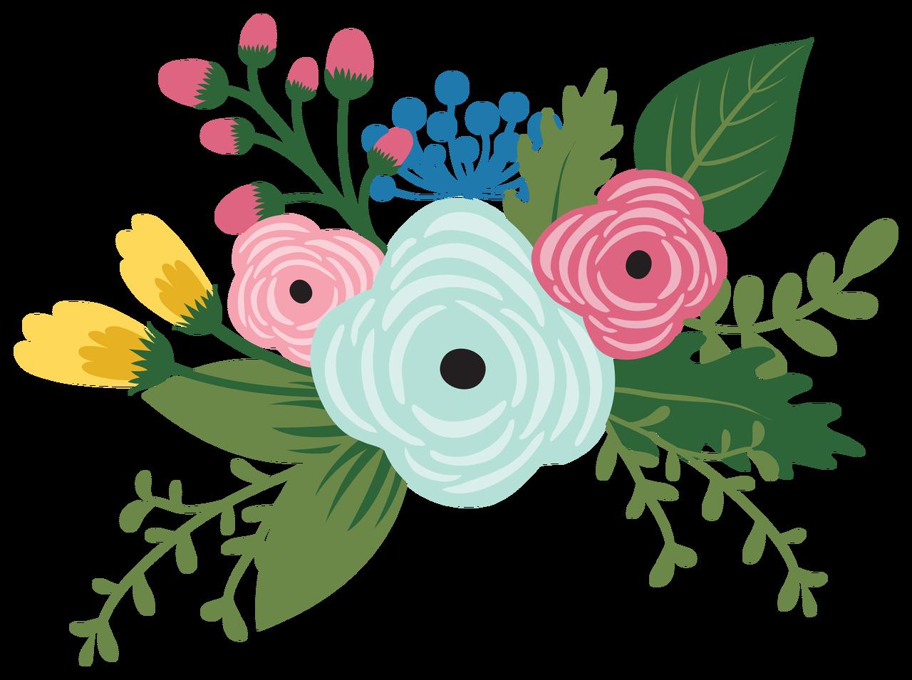 Have Faith Flowers Print & Cut File
