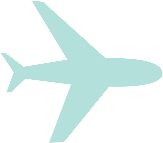 Travel Stories Airplane SVG Cut File