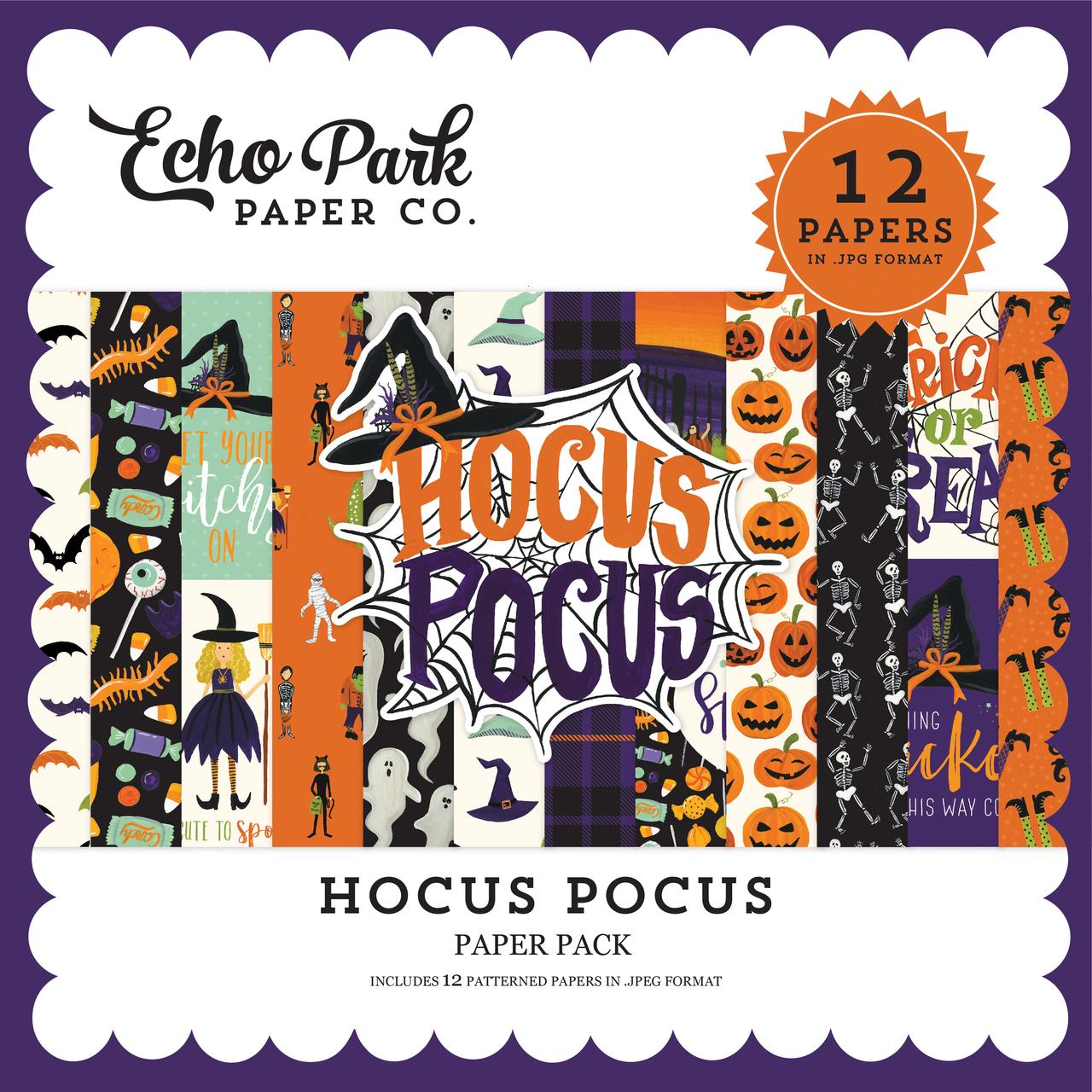 Hocus Pocus Paper Pack