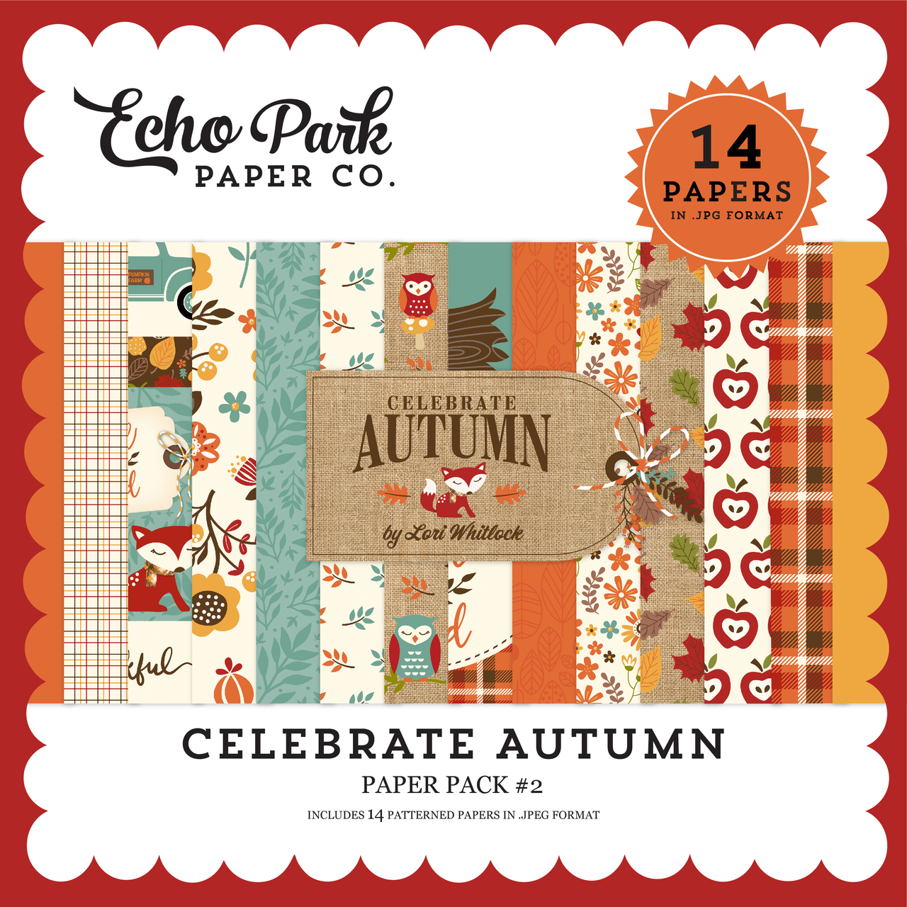 843acd53ea Celebrate Autumn Paper Pack #2 - Snap Click Supply Co.