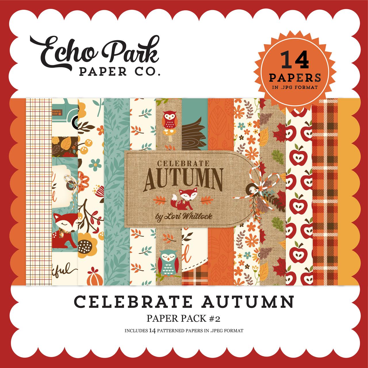 Celebrate Autumn Paper Pack #2